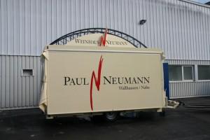 Wine trailer concession