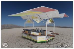 concession food trailer