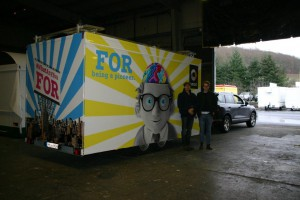 Promotionkit M promotional vehicles
