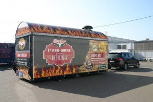 Catering truck Route 66 Steakhouse Indigo