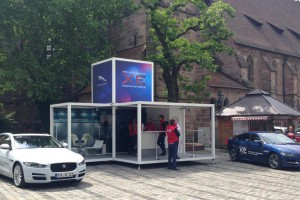 Promocube for Jaguar Cars