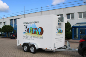 Food concession trailers