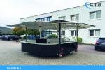 Mobile bbq trailer