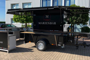 Catering food truck for Marienhof